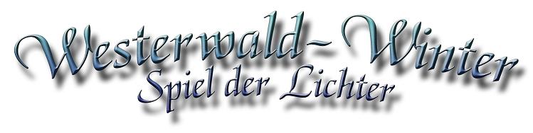 Westerwald-Winter Spiel der Lichter