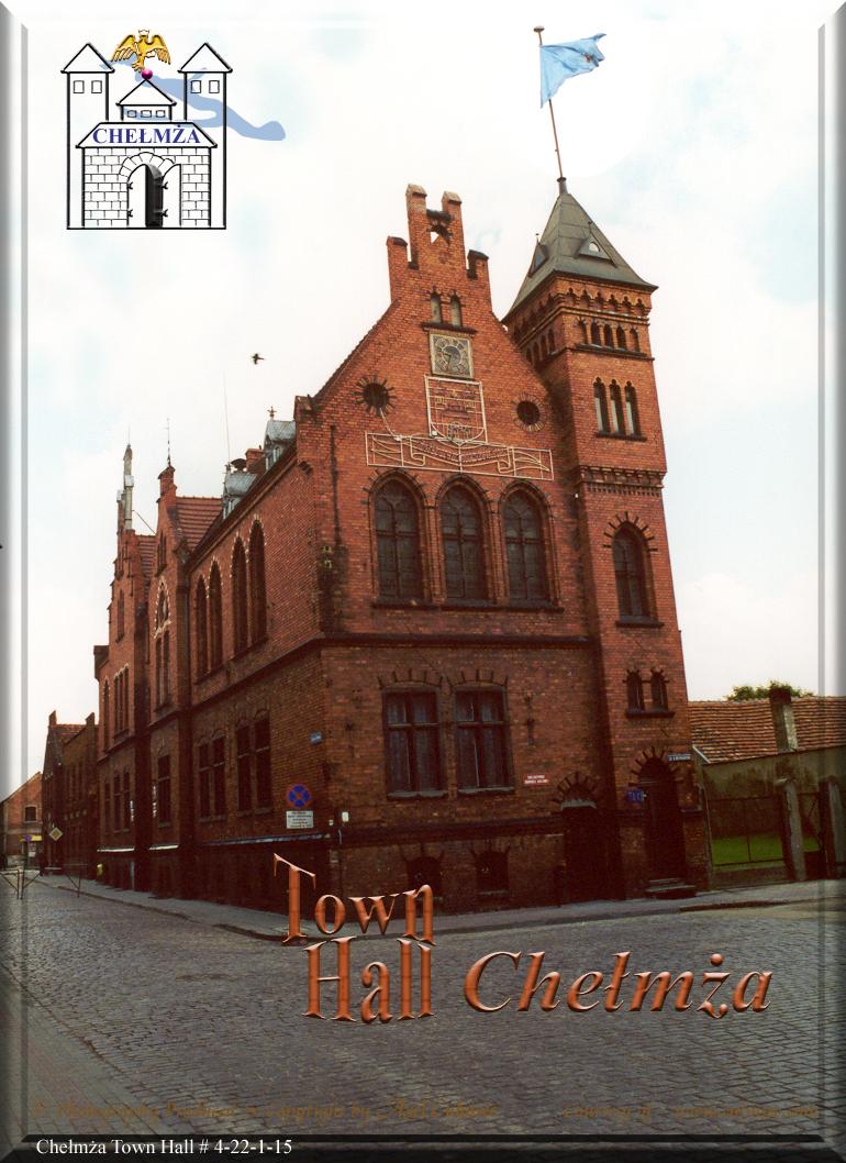 Chelmza town hall June 2001