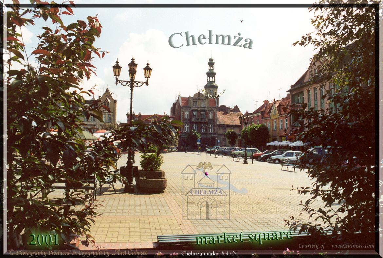 Chelmza market square 2001