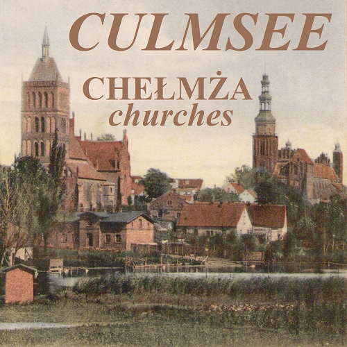Culmsee old postcard with St. Nicholas and Basilica