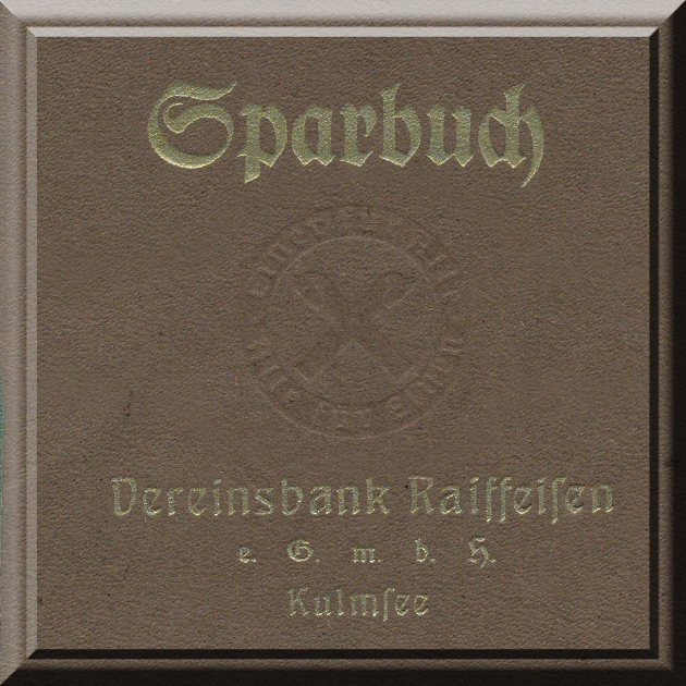 Kulmsee Sparbuch anno 1945 cover
