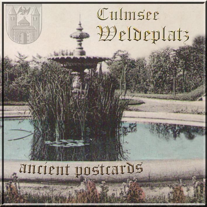 Culmsee Weldeplatz ancient fountain