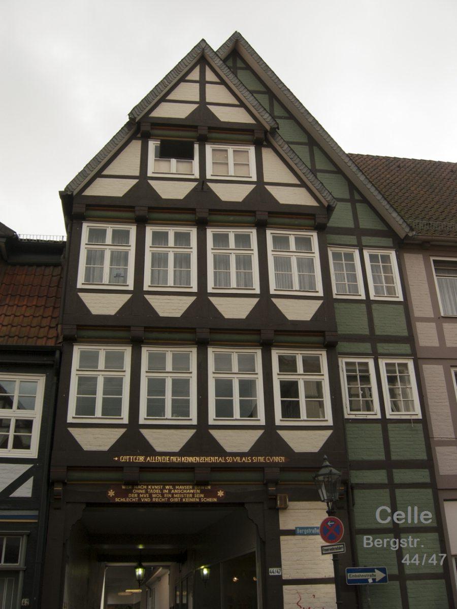 Fachwerkhaus Celle Bergstr 44-47