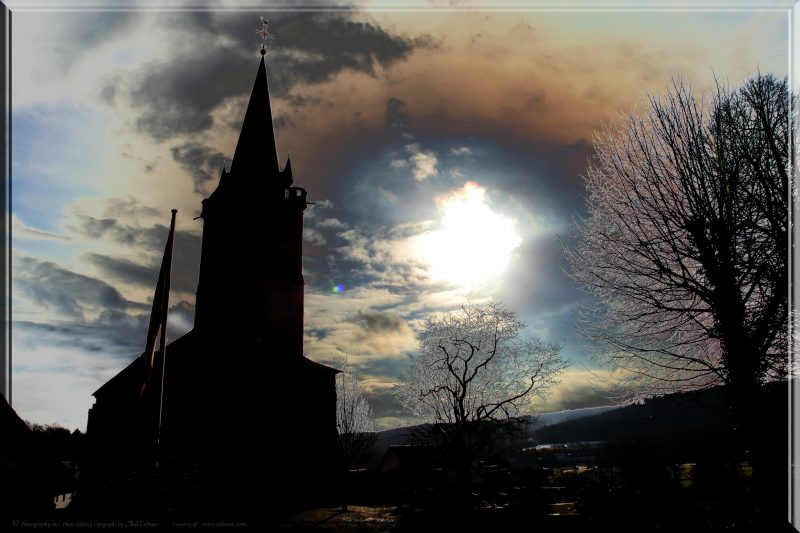 Kirche in Oberlahr - Photo Editing
