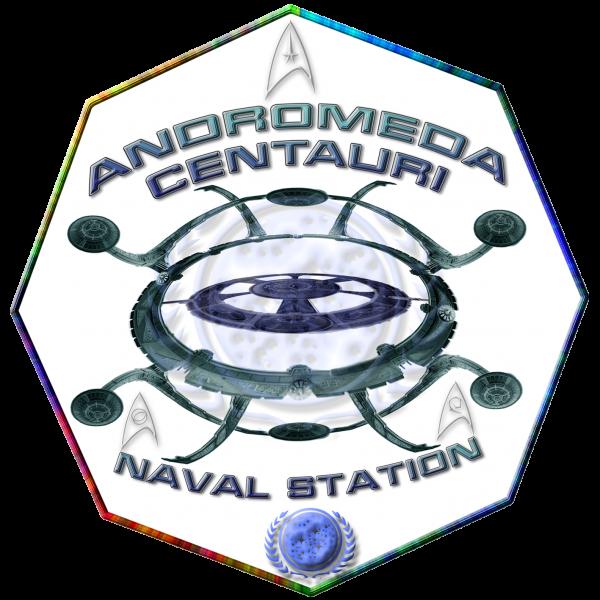 Andromeda Centauri Naval station Logo