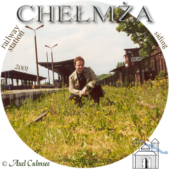 Axel Culmsee Chelmza railway station June 2001