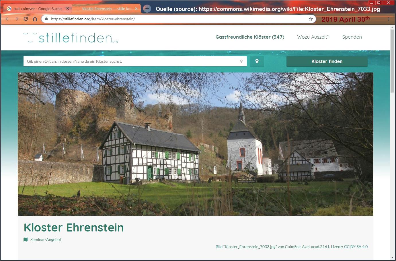 Kloster Ehrenstein #7033 by Axel Culmsee