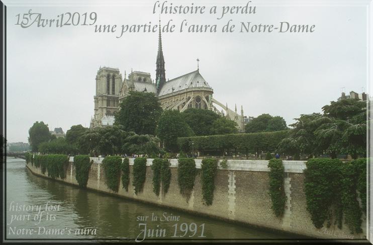 Paris 1991 Notre-Dame Seine