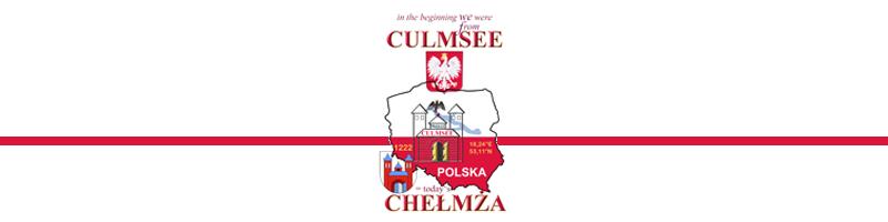 banderole Culmsee Chelmza Polska heraldic