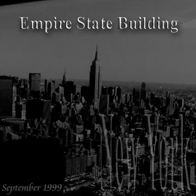 New York 1999 helicopter flight Empire State Building