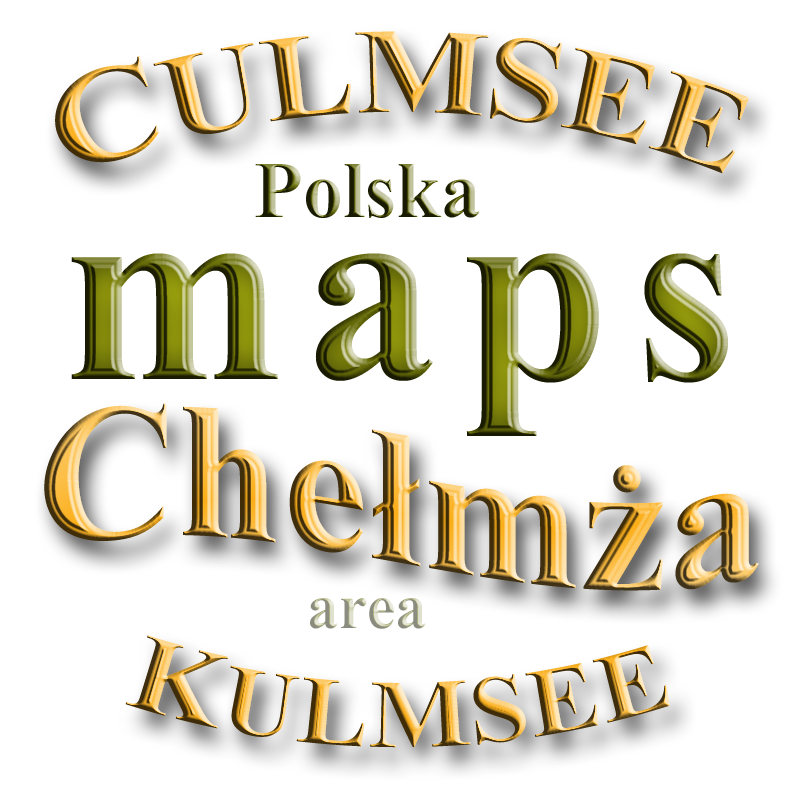 maps from Culmsee Kulmsee Chelmza area