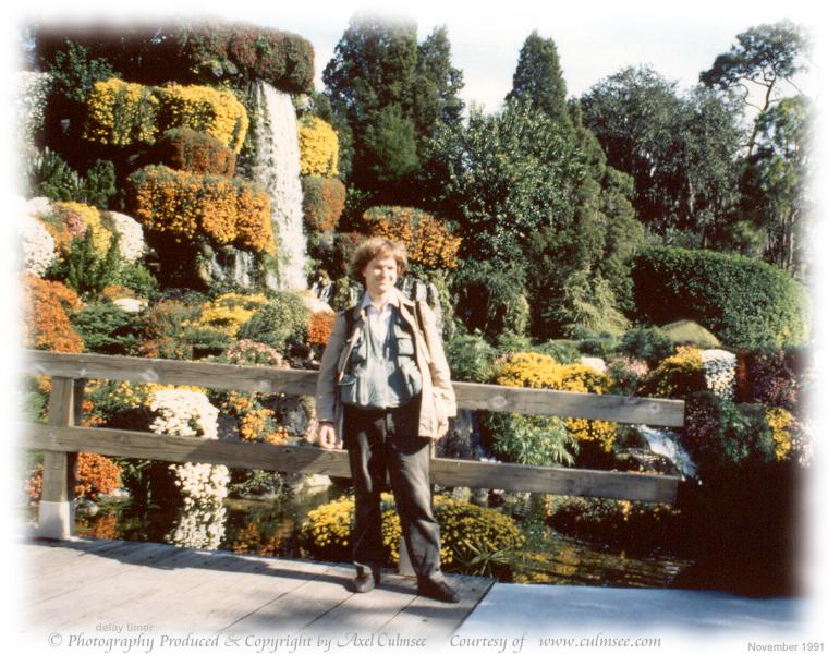 A.C. at Cypress Gardens November 1991