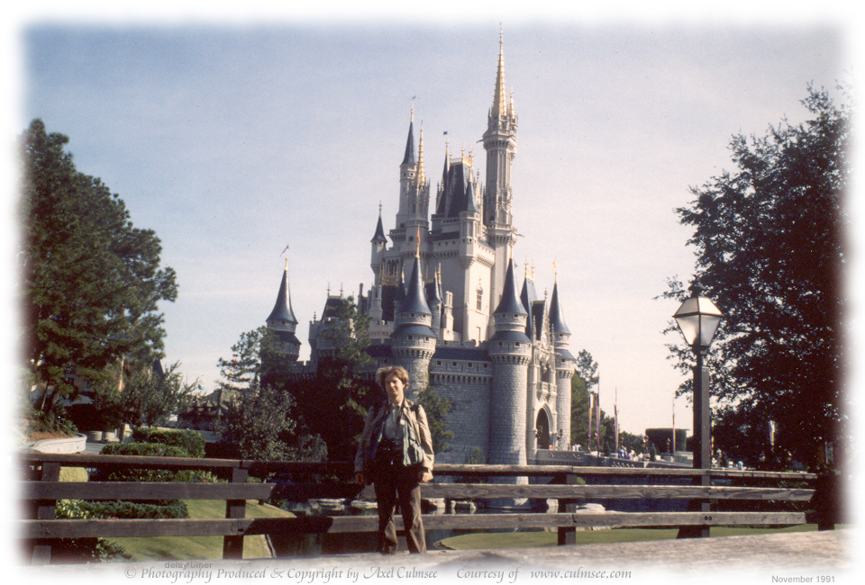 A.C. at Magic Kingdom November 1991