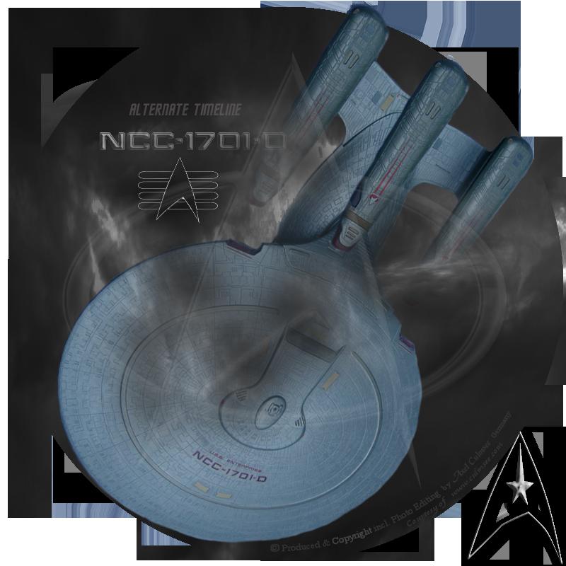 NCC-1701-D alternate timeline