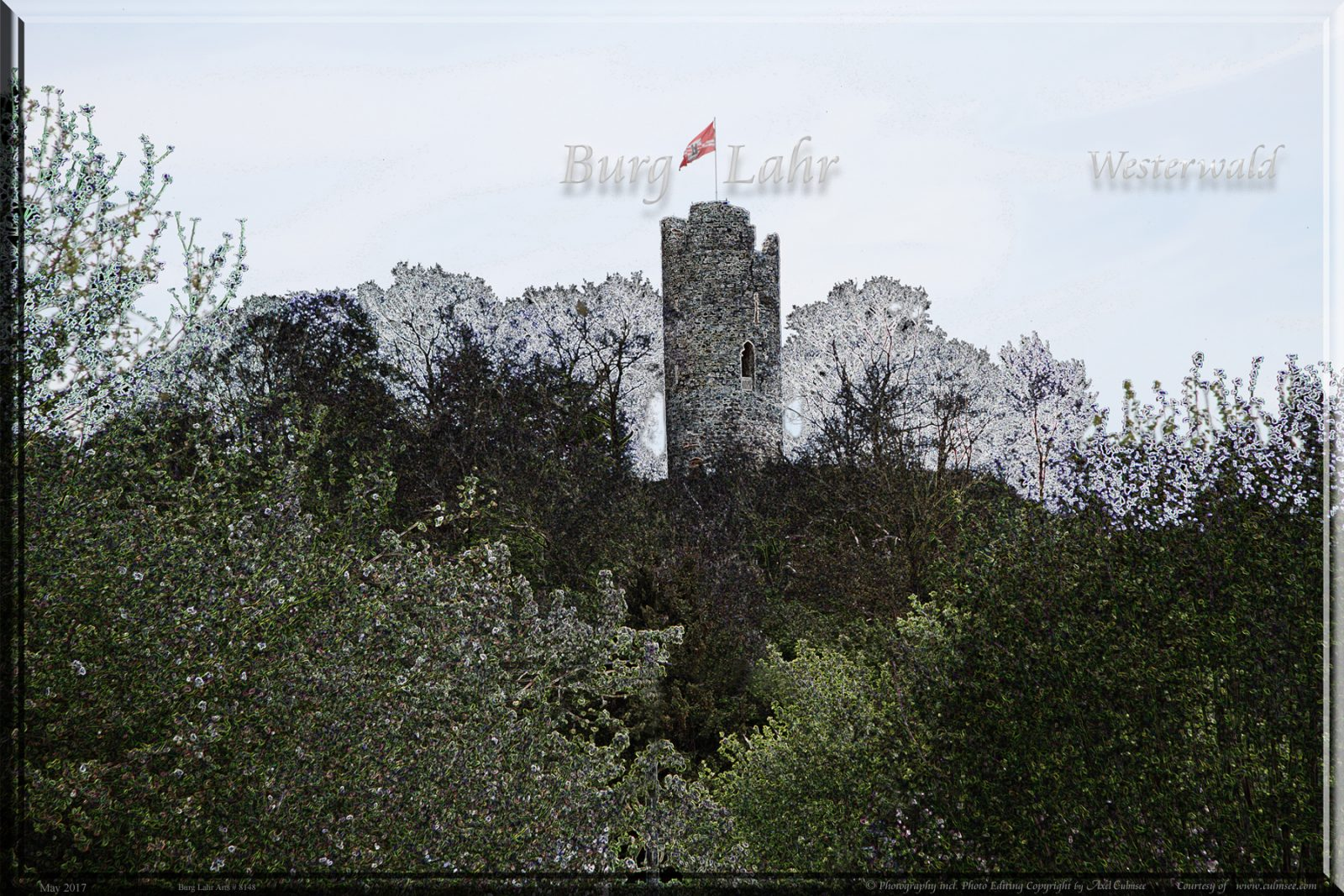 Burg Lahr Westerwald Photo Editing by Axel Culmsee