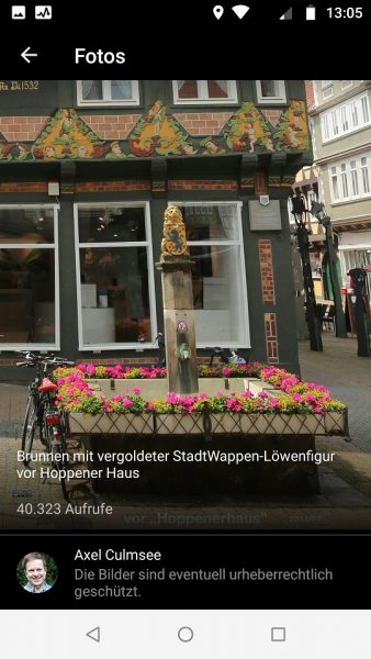 Local Guide Google Maps Celle Hoppener Haus Brunnen 40k views