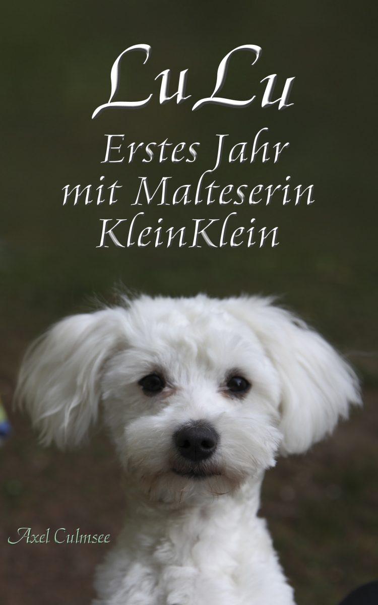Amazon eBook Cover von Axel Culmsee LuLu Erstes Jahr mit Malteserin KleinKlein