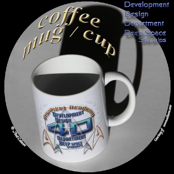 coffee mug cup Development Department Deep Space Starships