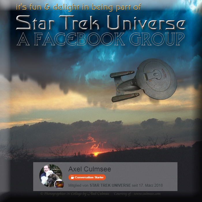 Star Trek Universe membership at fb group