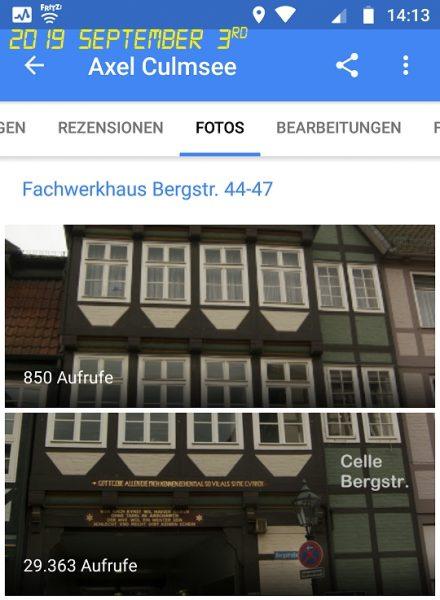 Celle Fachwerkhaus Bergstr. 44