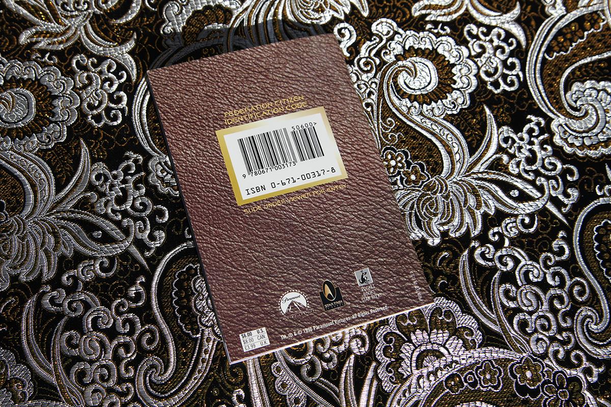 Star Trek Federation Passport - reverse side