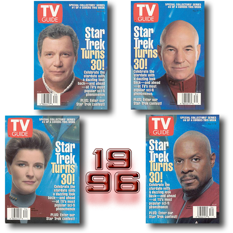 TV Guide August 1996 set 4of4
