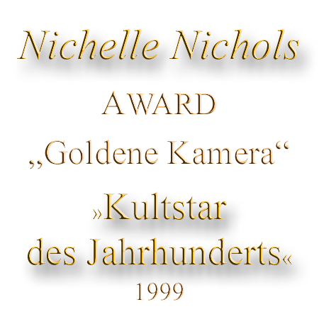 Nichelle Nichols Goldene Kamera Award 1999