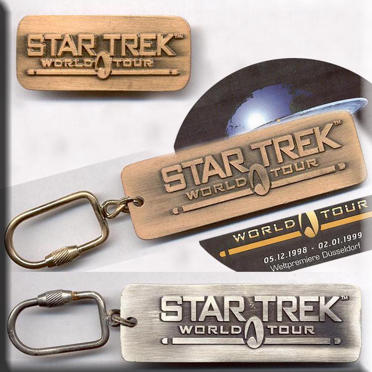 Star Trek World TourStar Trek World Tour key label pin key label n pin