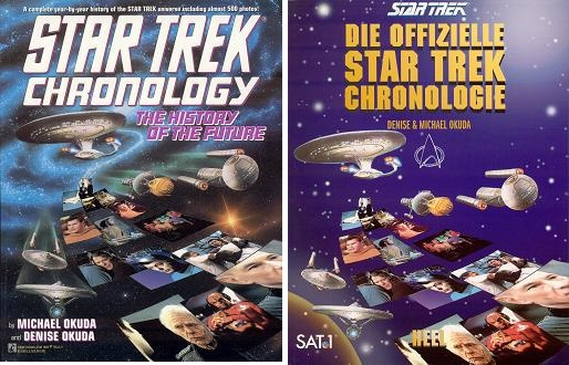 Star Trek Chronology History of the Future by Michael Okuda Denise Okuda