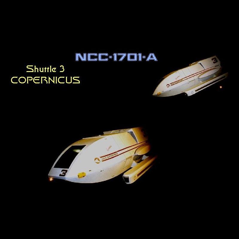 shuttle Copernicus NCC-1701-A