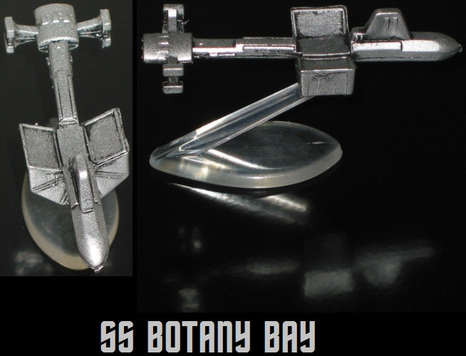 Botany Bay, Micro Machines, pewter edition