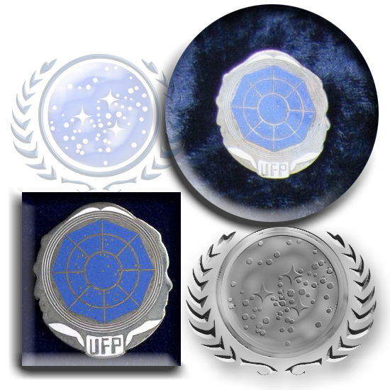 UFP silhouette pin from last millennium