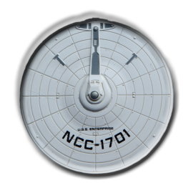 Enterprise NCC-1701 saucer