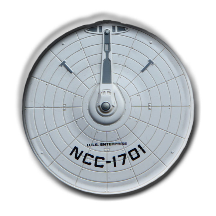 Enterprise NCC-1701 saucer