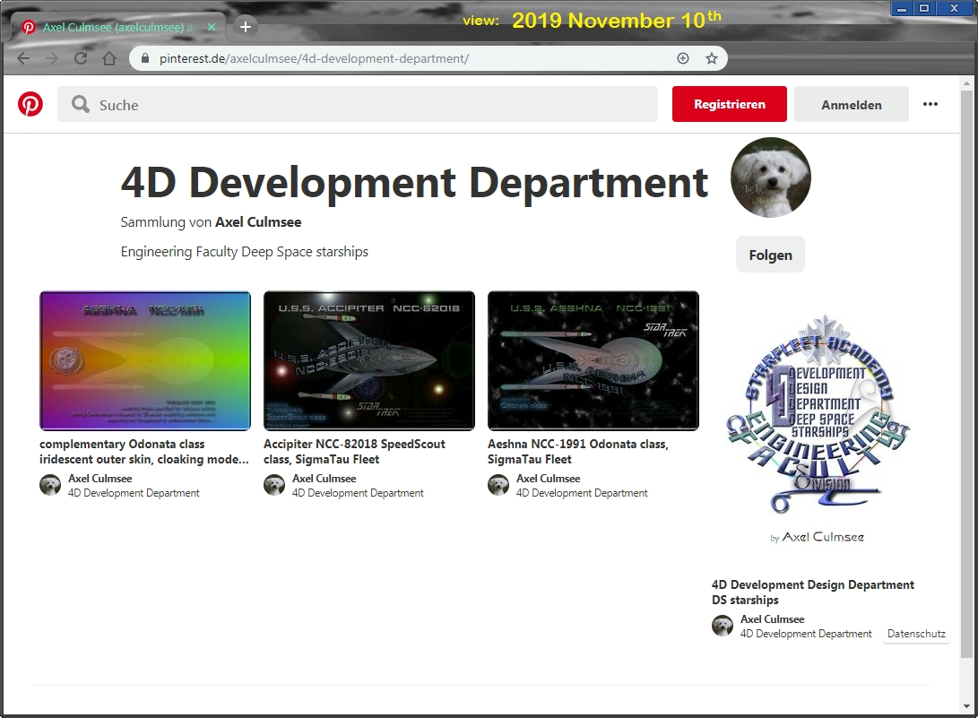 Pinterest Axel Culmsee 4D Development Department