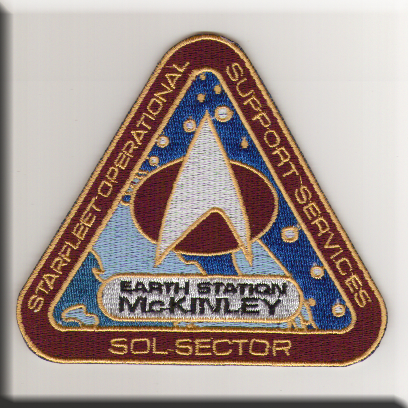 patch Earth station McKinley