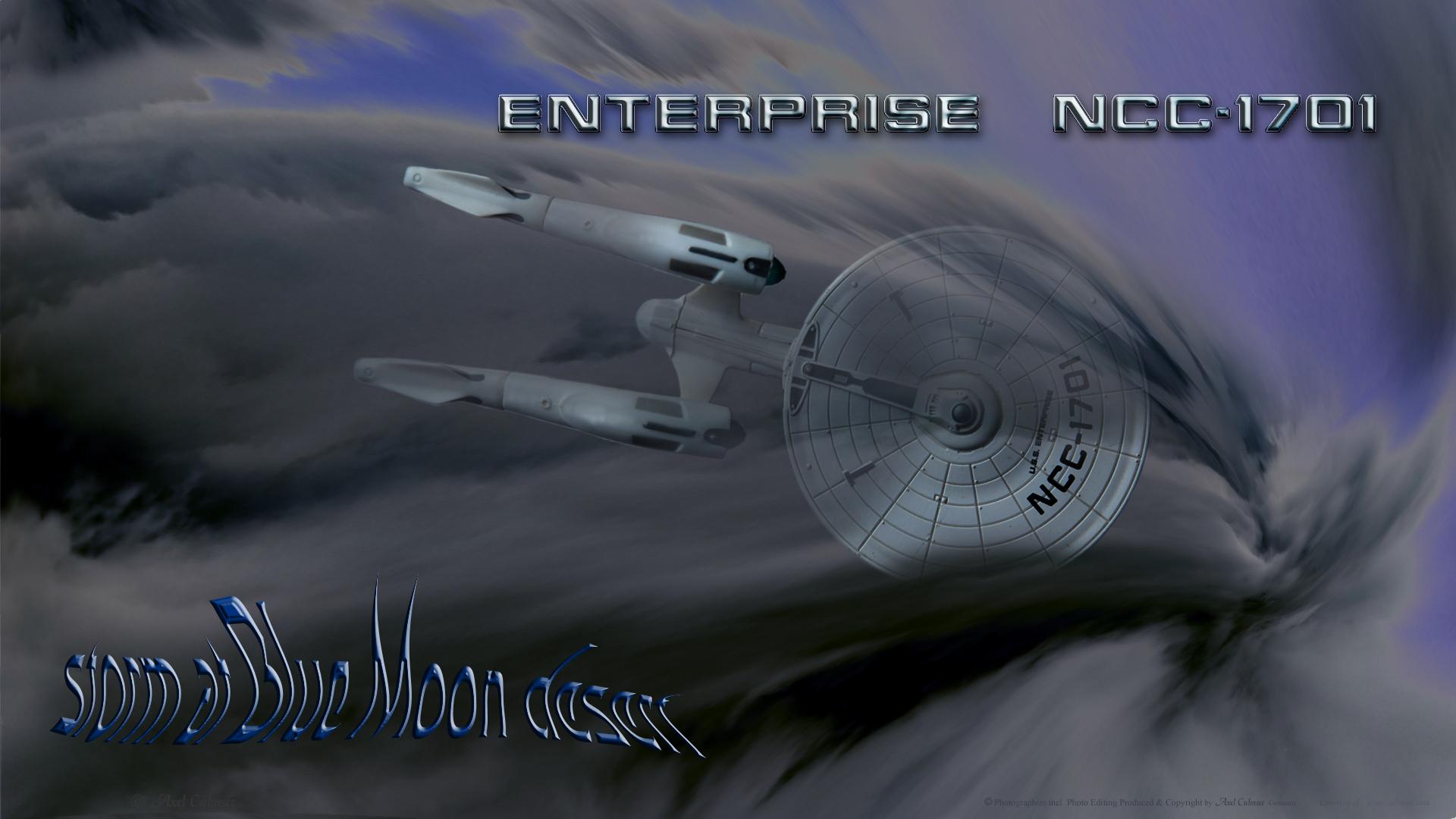 Enterprise storm over Blue Moon desert