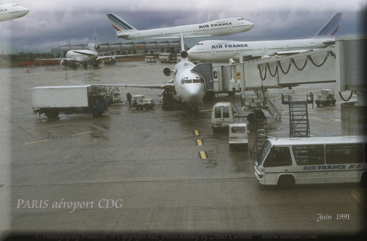 Paris 1991 airport CDG