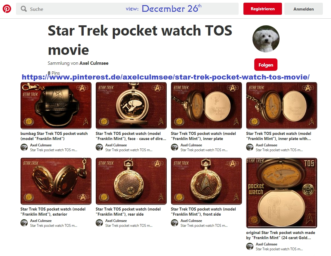 Pinterest Axel Culmsee pocket watch Star Trek 12-2019