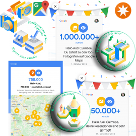 Google Maps Local Guide duo-master and more