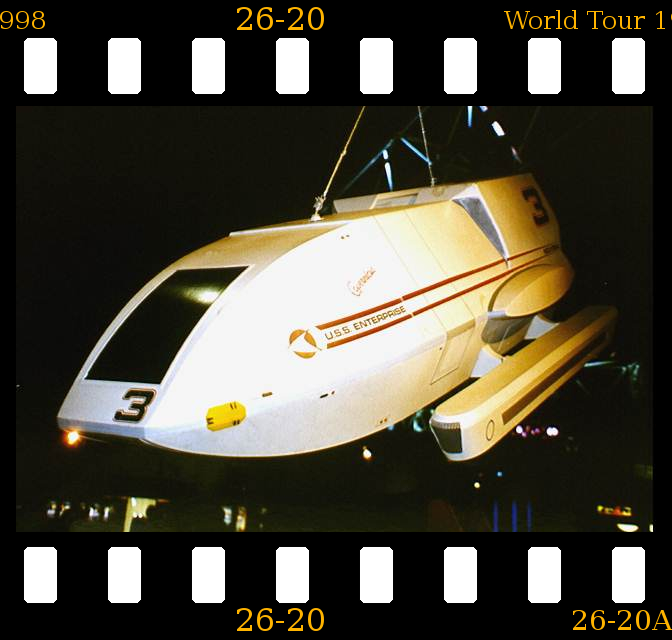 P026-020 Star Trek World Tour Duesseldorf 1998
