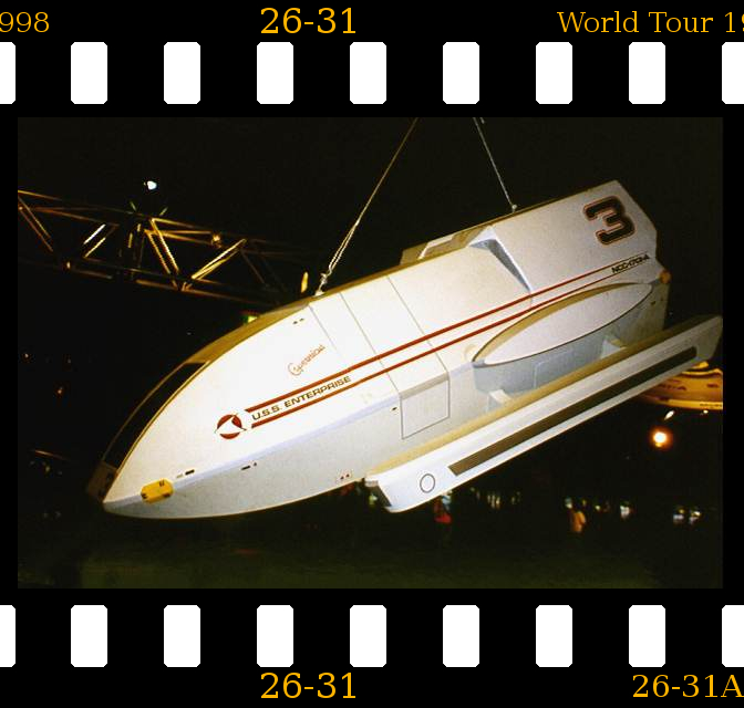 P026-031 Star Trek World Tour Duesseldorf 1998