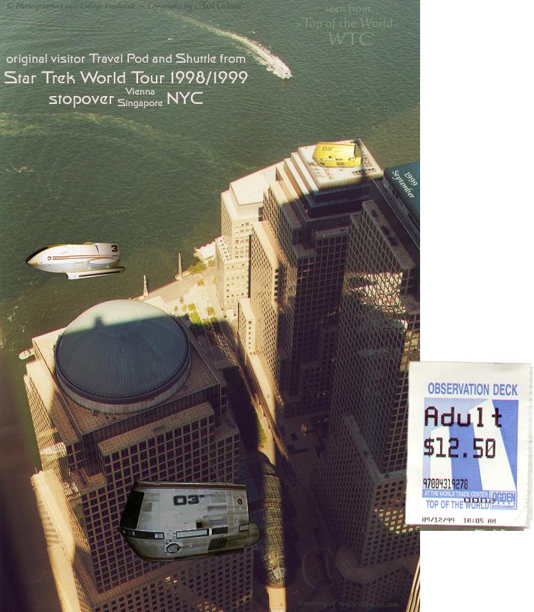 Star Trek World Tour 1998/1999 stopover NYC Sept 99 slide 5-34