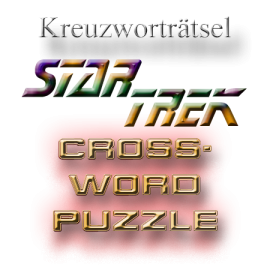 Star Trek Trekkie riddle crossword puzzle