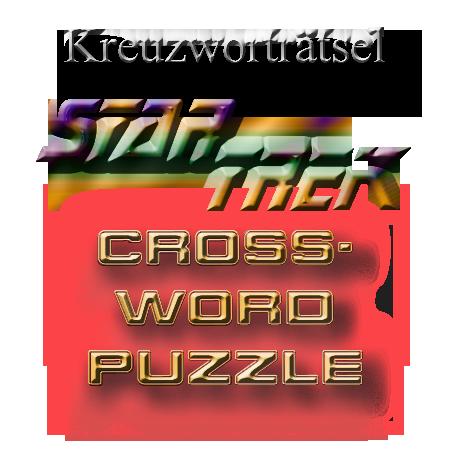 Star Trek Trekkie riddle crossword puzzle