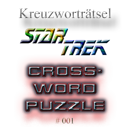 Star Trek Trekkie riddle 001 crossword puzzle
