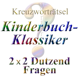 Kinderbuch-Klassiker crossword Literatur 02
