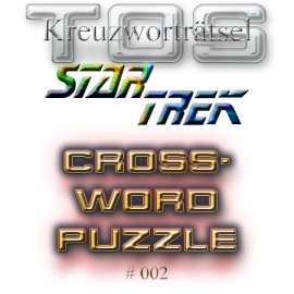 Star Trek Trekkie Kreuzworträtsel 002 crossword puzzle TOS