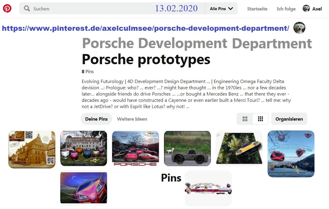 Pinterest Axel Culmsee, Porsche Development Department 02-2020