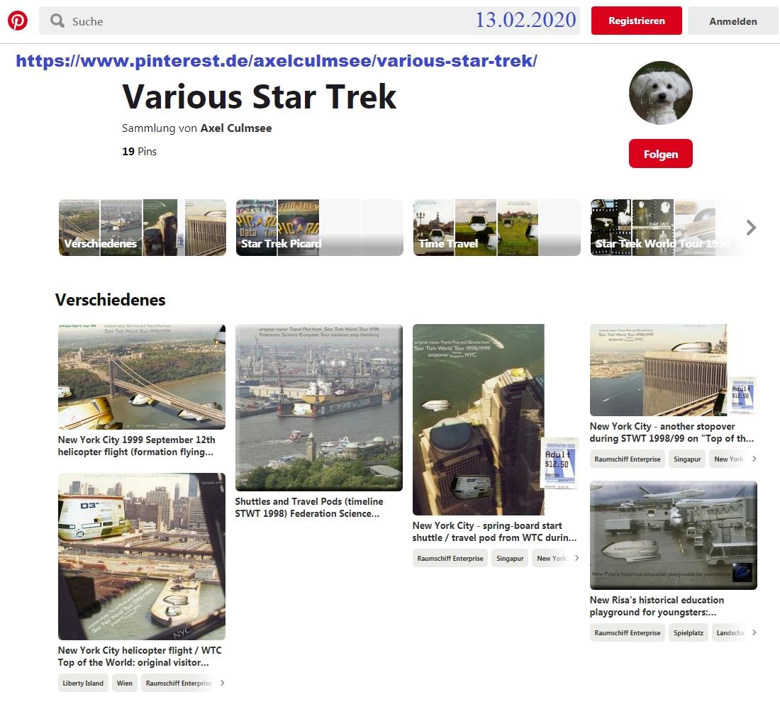 Pinterest Axel Culmsee various Star Trek 02-2020